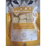Pamlsok Woolf Dog Chicken & Codfish Soft Sandwich 100 g