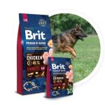 Brit Premium by Nature dog Senior L+ XL