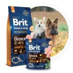 Brit Premium by Nature dog Senior S + M