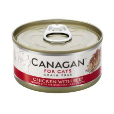 CANAGAN CAT CAN CHICKEN & BEEF 75 G