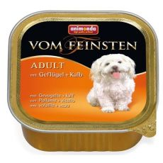 Animonda Vom Feinsten dog ADULT hydina a teľacie 150 g