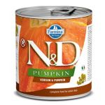 Farmina N&D dog PUMPKIN & Venison konzerva 285 g