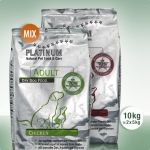 PLATINUM Natural MIX Adult Chicken + Adult Lamb + Rice 10kg